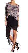 Young Fabulous & Broke Asymmetrical Wrap Skirt