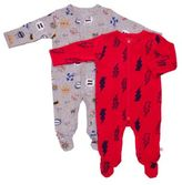 Rosie Pope® Baby Boy 2-Piece Bolt Super Boy Footie