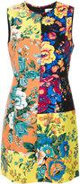 Diane von Furstenberg floral panel shift dress - women - Silk/Polyester/Spandex/Elastane/Wool - 6