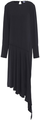 16Arlington Asymmetric Twill Dress