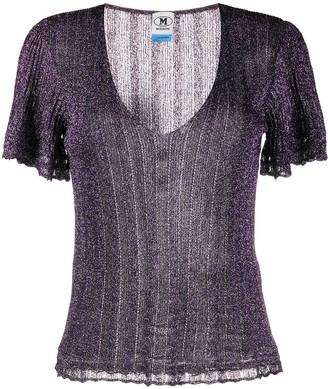 M Missoni Lurex Knitted Top