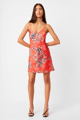 French Connection Coletta Cami Satin Slip Dress
