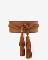 White House Black Market Tassel Obi Belt