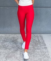 Contagious Women's Jeggings Red - Red Jeggings - Women