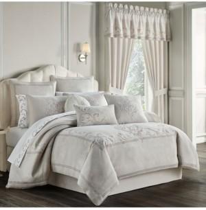 J Queen New York Angeline 4 Piece California King Comforter Set Bedding