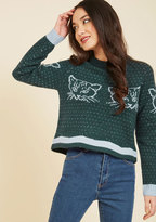 Warm-Hearted and Fuzzy Wool Sweater in M