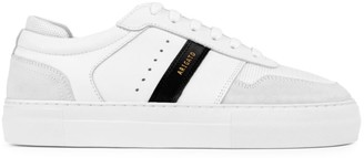 Axel Arigato Detailed Platform Mix Media Leather Platfrom Sneakers