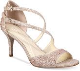 Alfani Women's Cremena Asymmetrical Evening Sandals, Created for Macy's