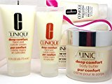 Clinique Deep Comfort Body Butter and Hand /Cuticle Cream Smoothed & Soothed Gift Set