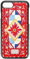 Dolce & Gabbana Mambo print iPhone 7 case - women - Calf Leather/plastic - One Size