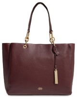 Vince Camuto Avin Leather Tote - Red