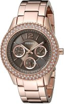 Fossil Women's ES3863 Stella Rose -Tone Stainless Steel Watch