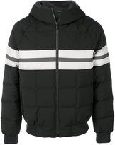 Z Zegna striped puffer jacket