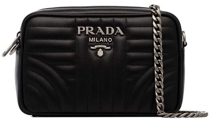 1ecafeed8448 Prada Black Handbags - ShopStyle