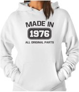 TeeStars - Made in 1976 40th Birthday Gift Idea Women Hoodie