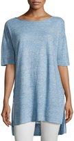 Eileen Fisher Lightweight Linen Melange Tunic