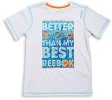 Reebok Boys 8-20 Logo Athletic Tee