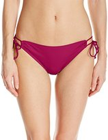 Bikini Lab Women's Solid Solutions Adjustable Hipster Bottom