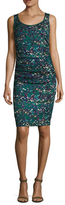 Tracy Reese Printed Silk T Dress