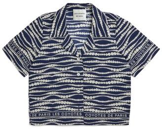 LES COYOTES DE PARIS Aiko Short-Sleeved Shirt (8-16 Years)