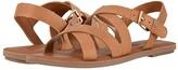 Toms Sicily (Tan Leather) Women's Sandals