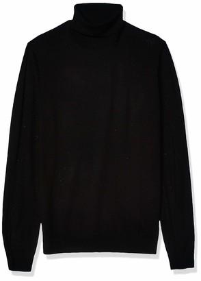 Goodthreads Amazon Brand Men's Lightweight Merino Wool/Acrylic Turtleneck Sweater