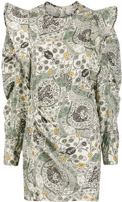 Etoile Isabel Marant Catarina ruffled dress