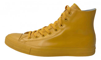 Converse Yellow Rubber Lace ups
