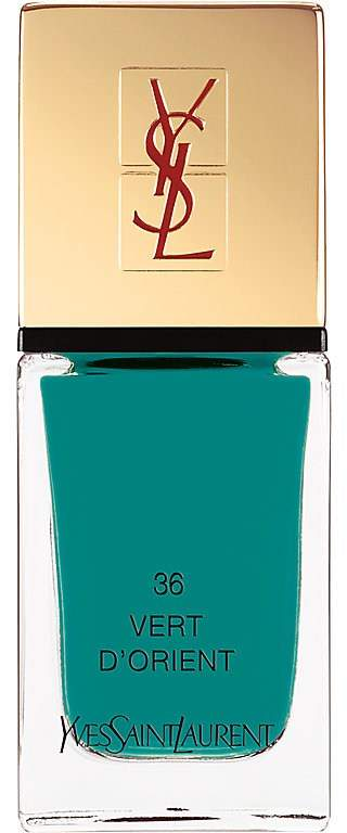 Saint Laurent Women's La Laque Couture - 36: Vert D'Orient