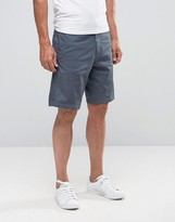 Armani Jeans Chino Shorts In Regular Fit With Eagle Logo