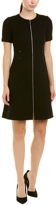 Lafayette 148 New York Petite Sonya Wool Shift Dress