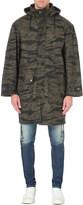Diesel J-tiger camouflage-print cotton coat