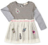 Baby Sara Toddler Girls) Patch Layered Tulle Dress