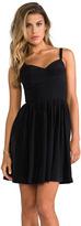 Amanda Uprichard Silk Champagne Dress