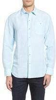 Tommy Bahama Men's Big & Tall Sand Linen Island Modern Fit Sport Shirt