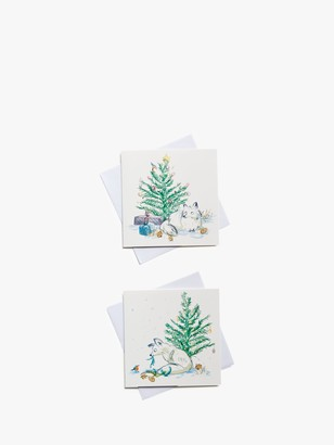 John Lewis & Partners Festive Dog Charity Christmas Cards, Pack of 10