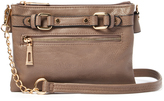 Kathy Ireland Gray Crossbody Bag