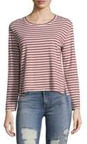 Amo Striped Crewneck Pullover
