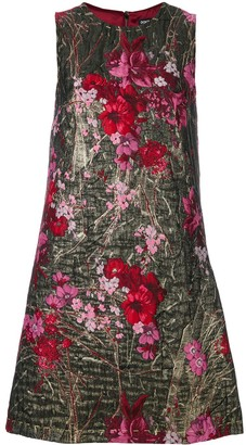 Dolce & Gabbana Floral Brocade Mini Dress