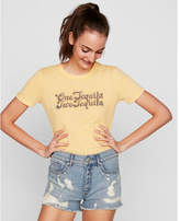 Express one eleven one tequila two tequila graphic tee