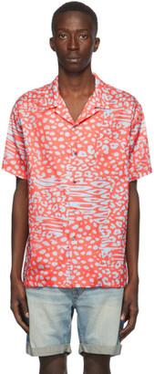 Double Rainbouu Red Liger Hawaiian Short Sleeve Shirt