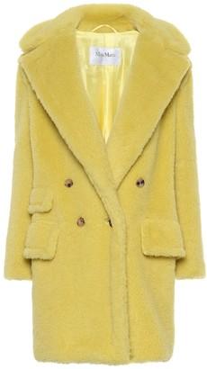 Max Mara Adenia alpaca and wool-blend coat