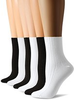 Hue Women's Ribbed Shortie 6 Pack