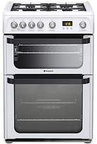 Hotpoint Signature JLG60P Gas Cooker, White