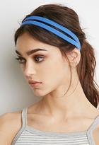 Forever 21 Double Elastic Headband Set