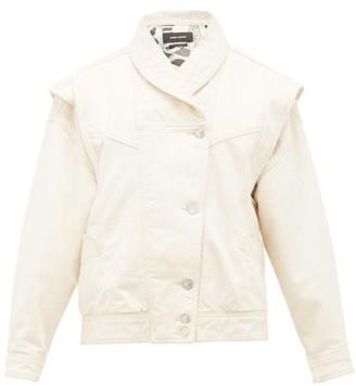 Isabel Marant Eriala Detachable-sleeves Denim Jacket - Ivory