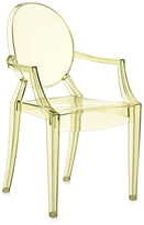 Kartell Loulou Ghost Children's Chair - Yellow