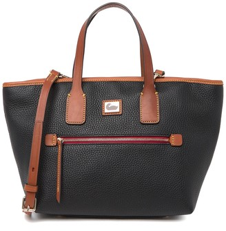 Dooney & Bourke Medium Convertible Leather Tote Bag