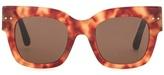 Bottega Veneta Square framed sunglasses