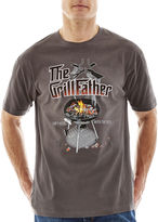 JCPenney NO BAD DAYS No Bad Days GrillFather Graphic Tee